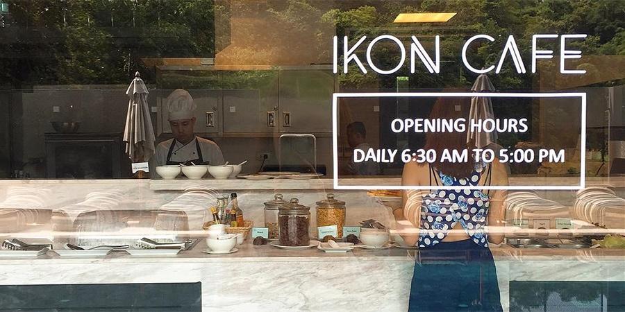 Hotel IKON Phuket - IKON CAFE'